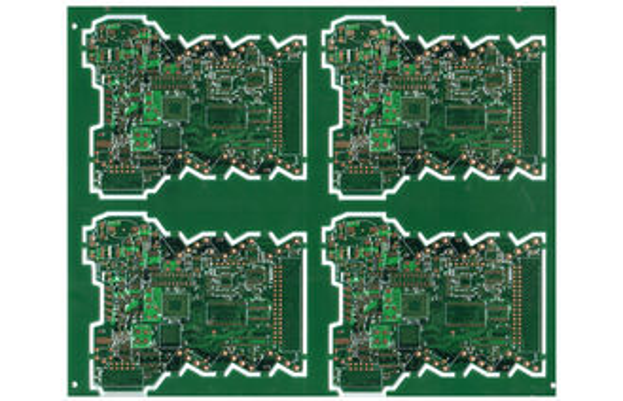 De Buena Calidad Placa de circuito de encargo de múltiples capas del PWB FR4 de Soldermask del verde de ENIG para el transformador Venta