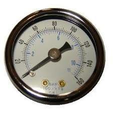 De Buena Calidad Los indicadores de presión digitales del compresor de aire, líquido llenaron el indicador de presión Venta