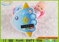 Tira cambiante del termómetro del baño del bebé del color del OEM para el regalo de la promoción de la bañera