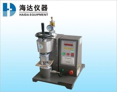 Fabric Leather Bursting Strength Tester ,  Semi Automatic Paper Testing Equipments